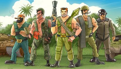 Онлайн игра Банановые Войны