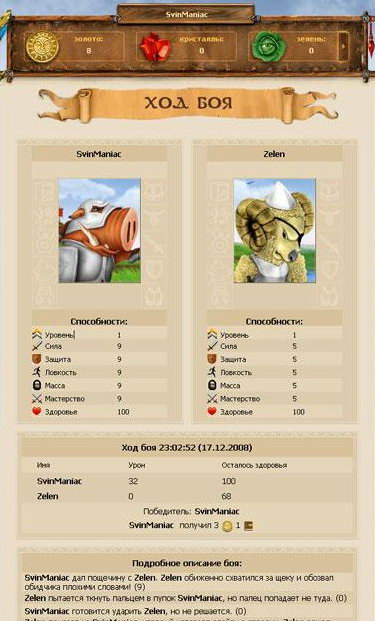 Бесплатная браузерная онлайн игра Ботва Онлайн